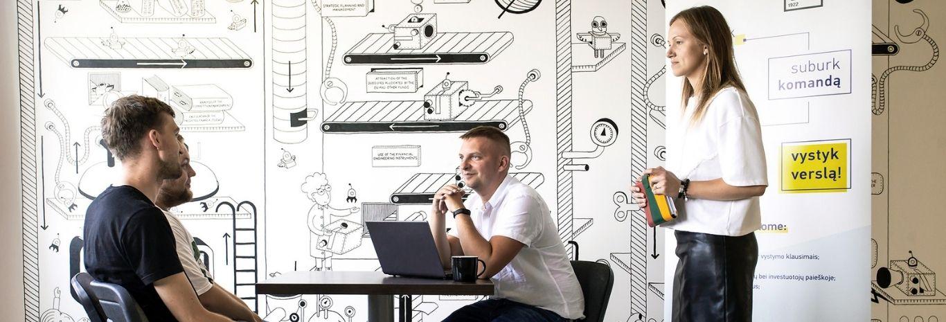 KTU startup space